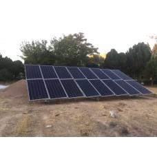 نیروگاه خورشیدی خانگی 5 کیلو وات