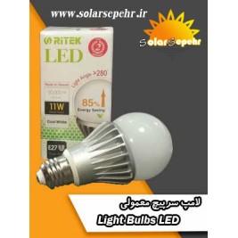 لامپ های سرپیچ معمولی led