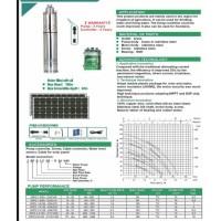 پمپ شناور خورشیدی 200 وات یک اینچ